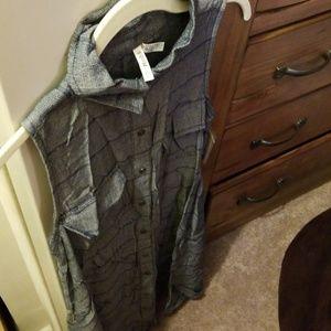 Mudd Shirt dress